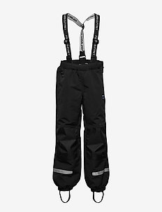 Trousers Shell w Suspendor PreScool - bukser - black