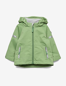 Jacket Shell Solid Preschool - mineral green