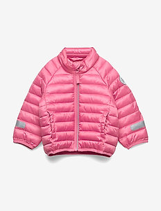 Jacket Padded Solid PreSchool - geranium pink