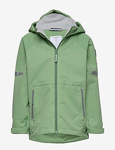 Jacket Shell Solid School - shelljacke - mineral green
