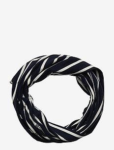 Neckwarmer stripe Preschool - winter clothing - dark sapphire