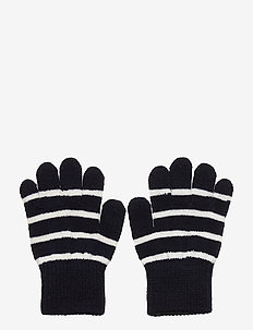 Glove Wool PO.P Stripe Preschool - handschuhe - dark sapphire