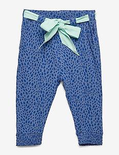 Trousers AOP Pre-School - MOONLIGHT BLUE