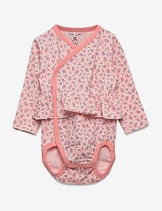 Body Wrapover AOP Baby - IMPATIENS PINK