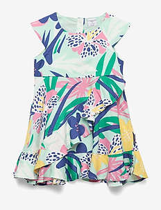 Dress Woven AOP Preschool - sukienki - yucca