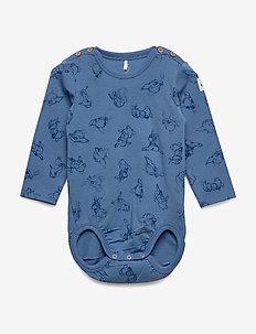Disney Collection Body AOP Baby - langärmelig - moonlight blue