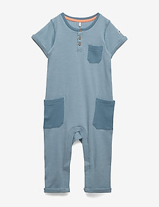 Overall Striped Baby - MOONLIGHT BLUE