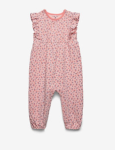 Overall AOP Baby - jumpsuits - impatiens pink