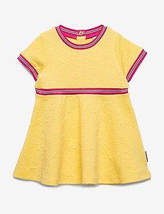 Dress Jersey Preschool - sukienki - lemon drop