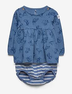 Disney Collection Top L/S AOP Baby - MOONLIGHT BLUE