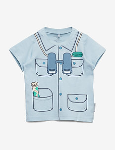 T-shirt S/S with print Baby - lyhythihaiset - dream blue