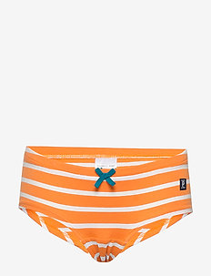 Brief Stripe School - unterteile - flame orange