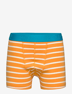 Boxer Striped School - unterteile - flame orange