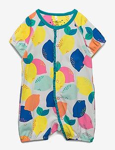 Pyjamas Overall AOP Baby - SNOW WHITE