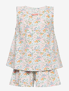 Pyjamas S/S AOP School - SNOW WHITE