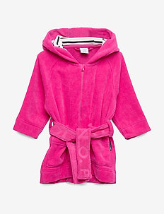 Bathrobe Solid Baby - szlafroki - beetroot purple