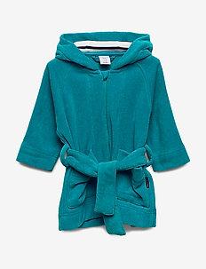 Bathrobe Solid Baby - bathrobes - beetroot purple