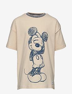 Disney Collection T-shirt print School - krótki rękaw - tapioca