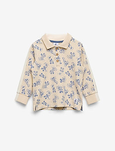 Disney Collection Shirt L/S woven AOP Preschool - TAPIOCA