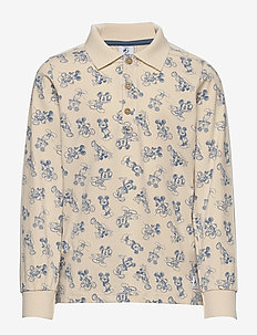 Disney Collection Shirt L/S woven AOP School - TAPIOCA