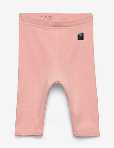 Leggings Solid Preschool - leggings - impatiens pink