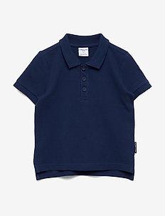 Piké s/s solid Pre-school - koszulki polo - medieval blue