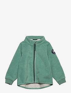 Jacket Windfleece Solid Preschool - polar - oil blue