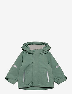 Jacket Shell Solid Preschool - skaljakke - oil blue