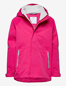 Jacket Shell Solid School - skalljakke - magenta
