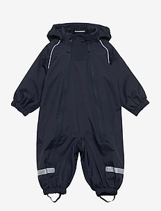 Overall Shell Lined Baby - shell clothing - dark sapphire