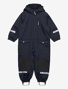 Overall Shell Lined Preschool - shell clothing - dark sapphire