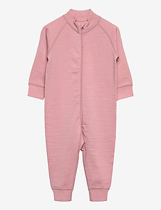 Overall Solid Wool Baby - wol - bridal rose