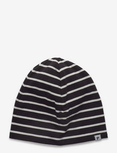 Cap PO.P Striped Preschool - czapka beanie - black