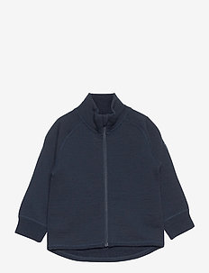 Zip Up Woolterry Prechool - wol - dark sapphire