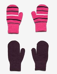 Magic Mitten Baby - zimowe ubranie - fandango pink