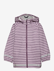 Rain Jacket Stripe Preschool - takit - dawn pink