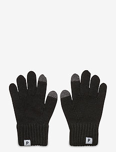 Glove Wool Preschool - ull-klær - black