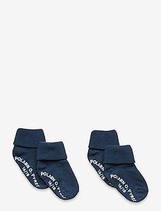 Socks 2-Pack Solid Preschool - sokker - ensign blue