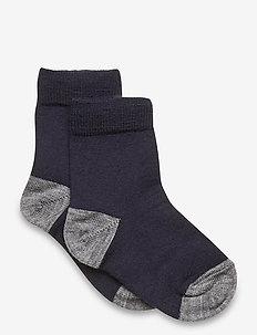 Socks Wool Solid Preschool - sokken - dark sapphire