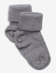 Sock Wool Baby - strumpor - greymelange