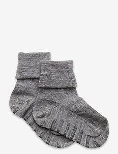 Sock Wool Preschool - strumpor - greymelange