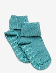 Sock Wool Preschool - skarpetki antypoślizgowe - teal