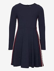 Dress l/s Jersey School - sukienki - dark sapphire