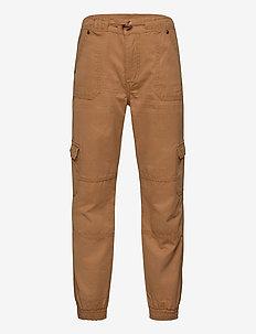 Trousers Woven School - bukser - cayenne