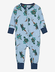 Pyjamas AOP Baby - one-sie - dusk blue