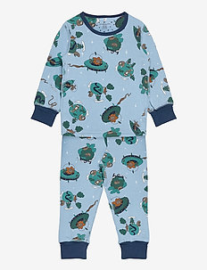 Pyjamas AOP Preschool - sets - dusk blue