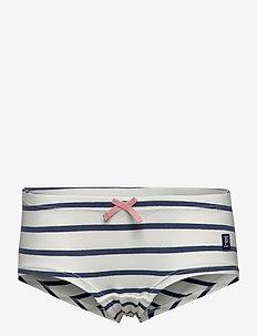 Girl Hipster Striped School - trosor - ensign blue