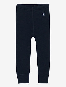 Long Johns Wool Solid Baby - basislag - dark sapphire