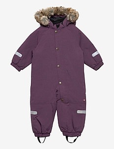 Overall Solid Baby - snowsuit - moon