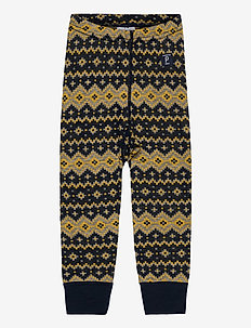 Trousers Wool Jaquard Baby - joggingbroek - dark sapphire